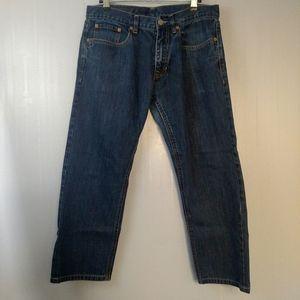 Armani Exchange Strait Leg Jeans Dark Wash 31 S/C